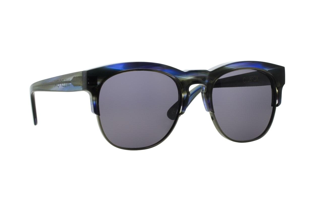 Wildfox Club Fox Deluxe Gray Sunglasses