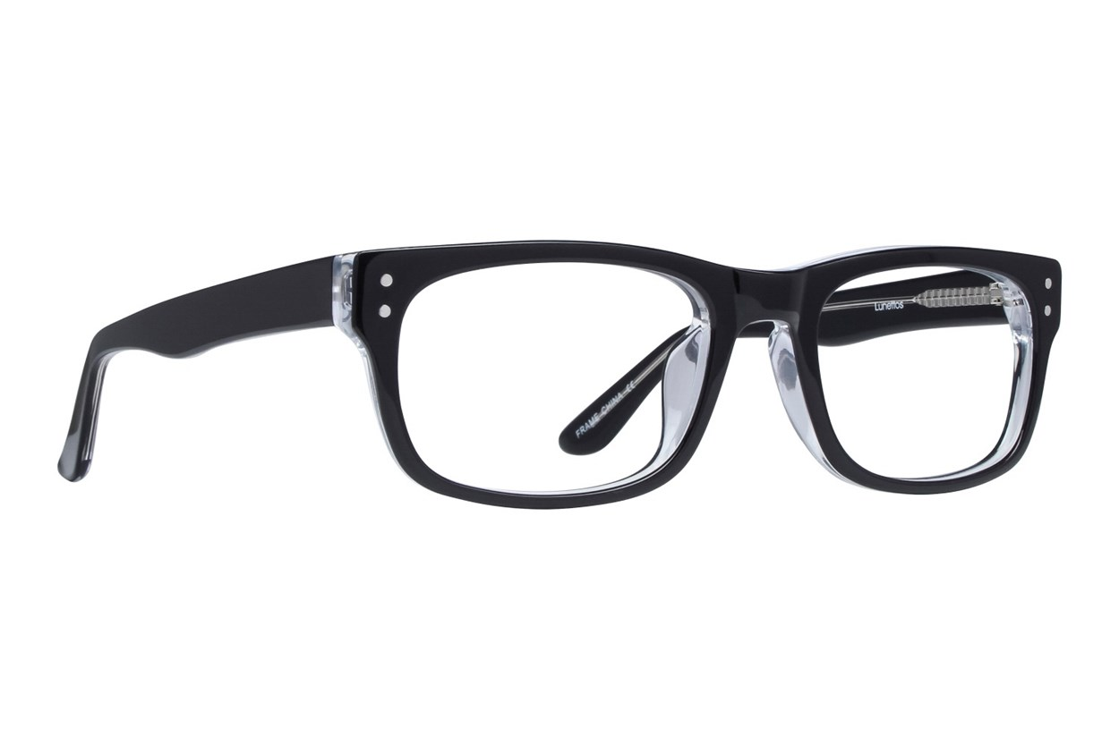 Lunettos Brian Black Glasses