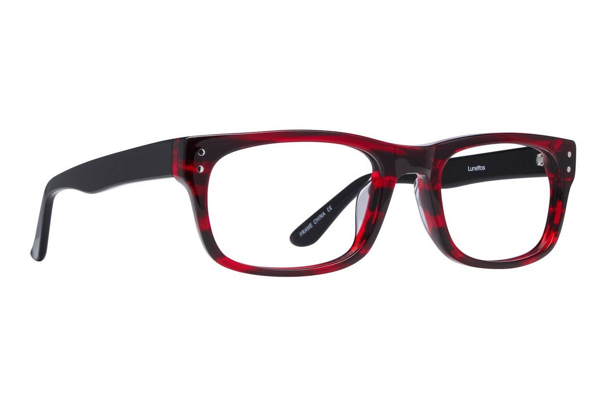 Lunettos Brian Red Glasses