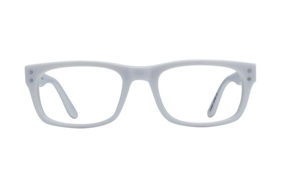 Lunettos Brian White Glasses