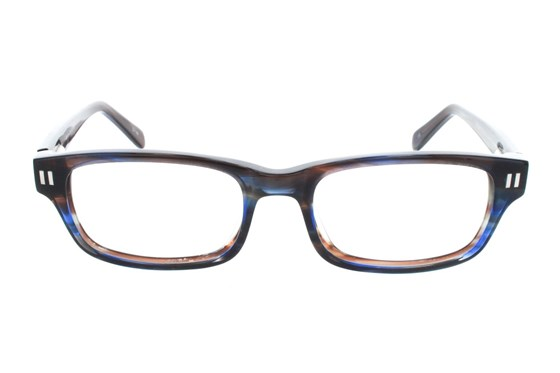Square Root Copernicus Blue Glasses