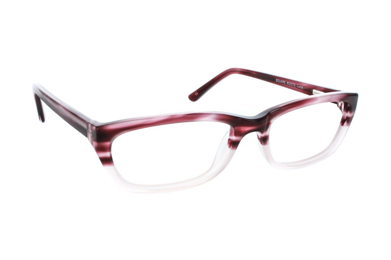 Square Root Curie Eyeglasses - Red