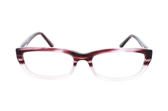 Square Root Curie Red Glasses
