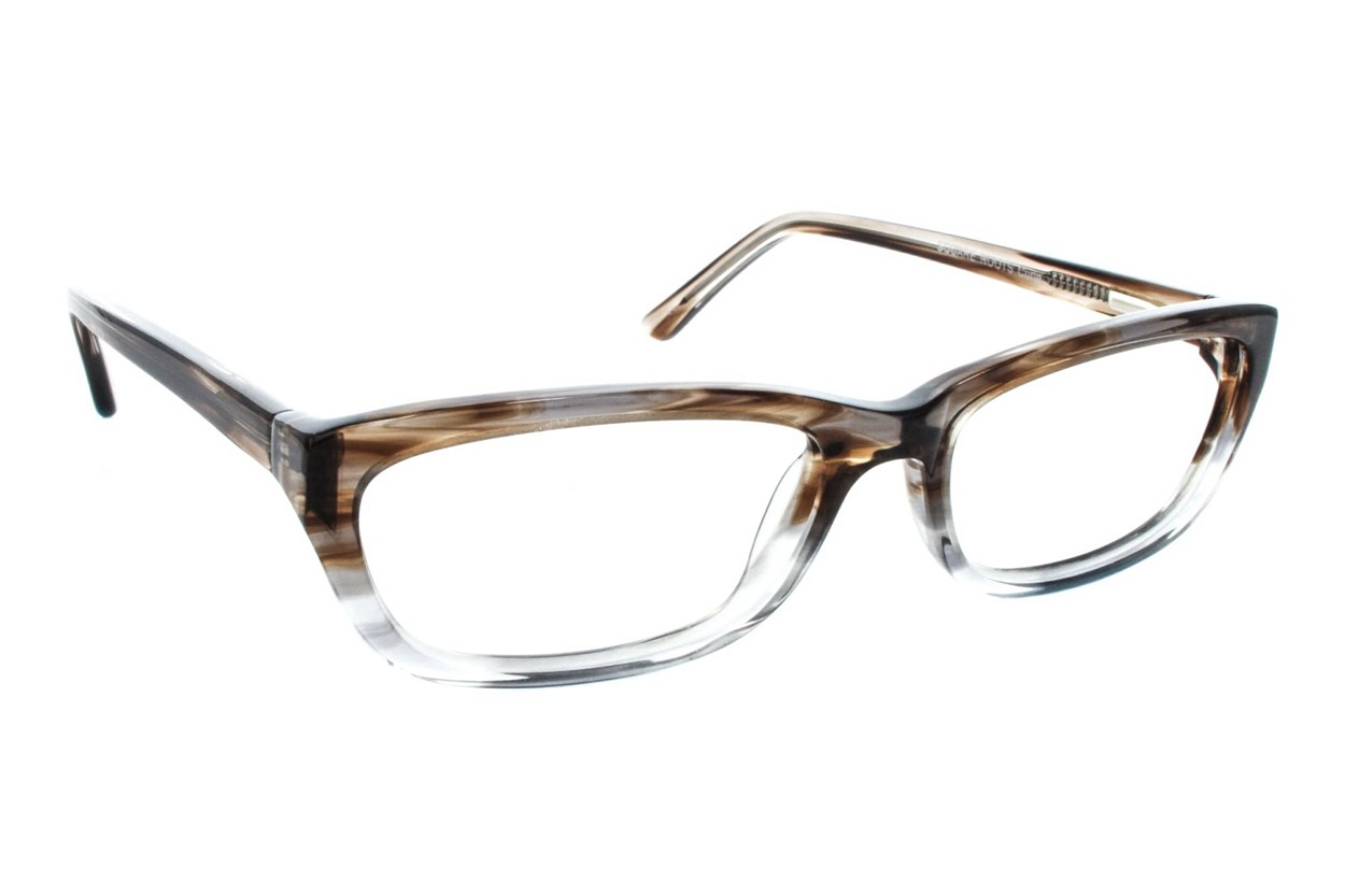 Square Root Curie Gray Glasses