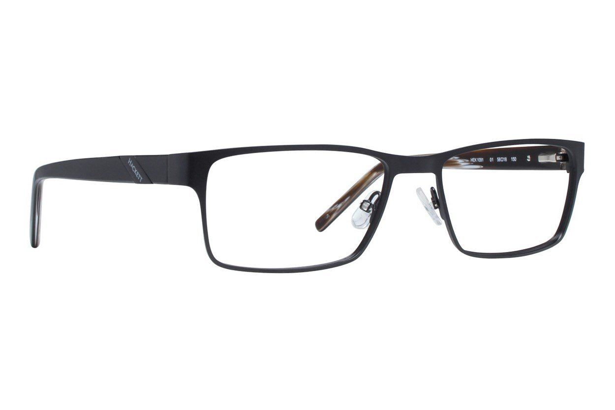 Hackett London Large Fit HEK1091 Eyeglasses - Black