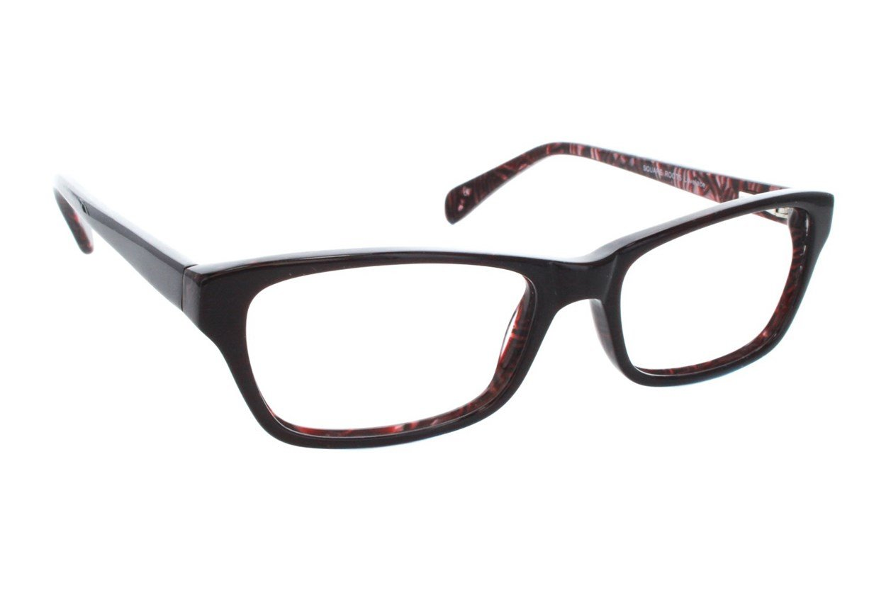 Square Root Lovelace Red Glasses