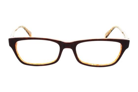 Square Root Lovelace Tan Glasses