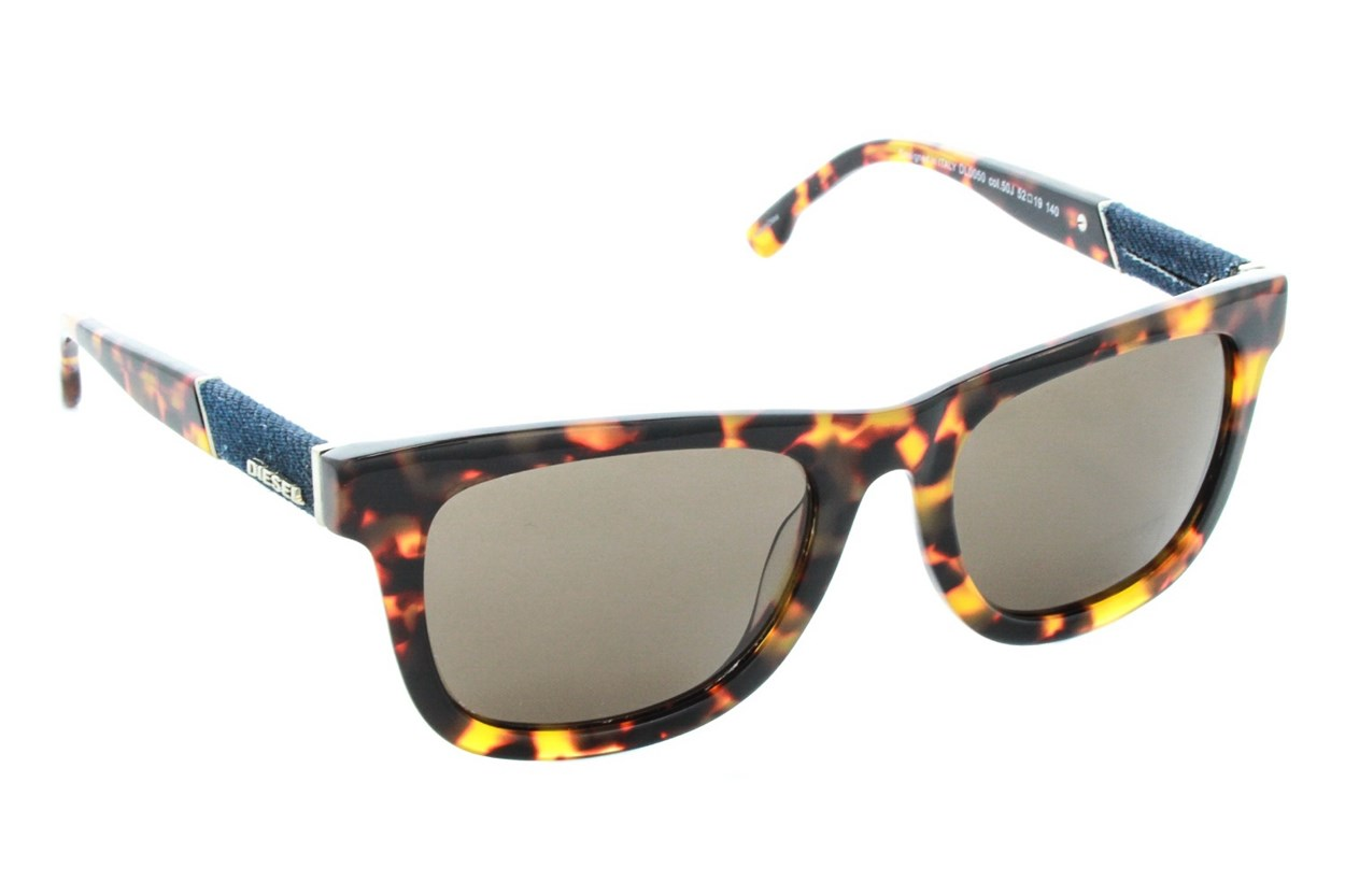 Diesel DL 0050 Tortoise Sunglasses