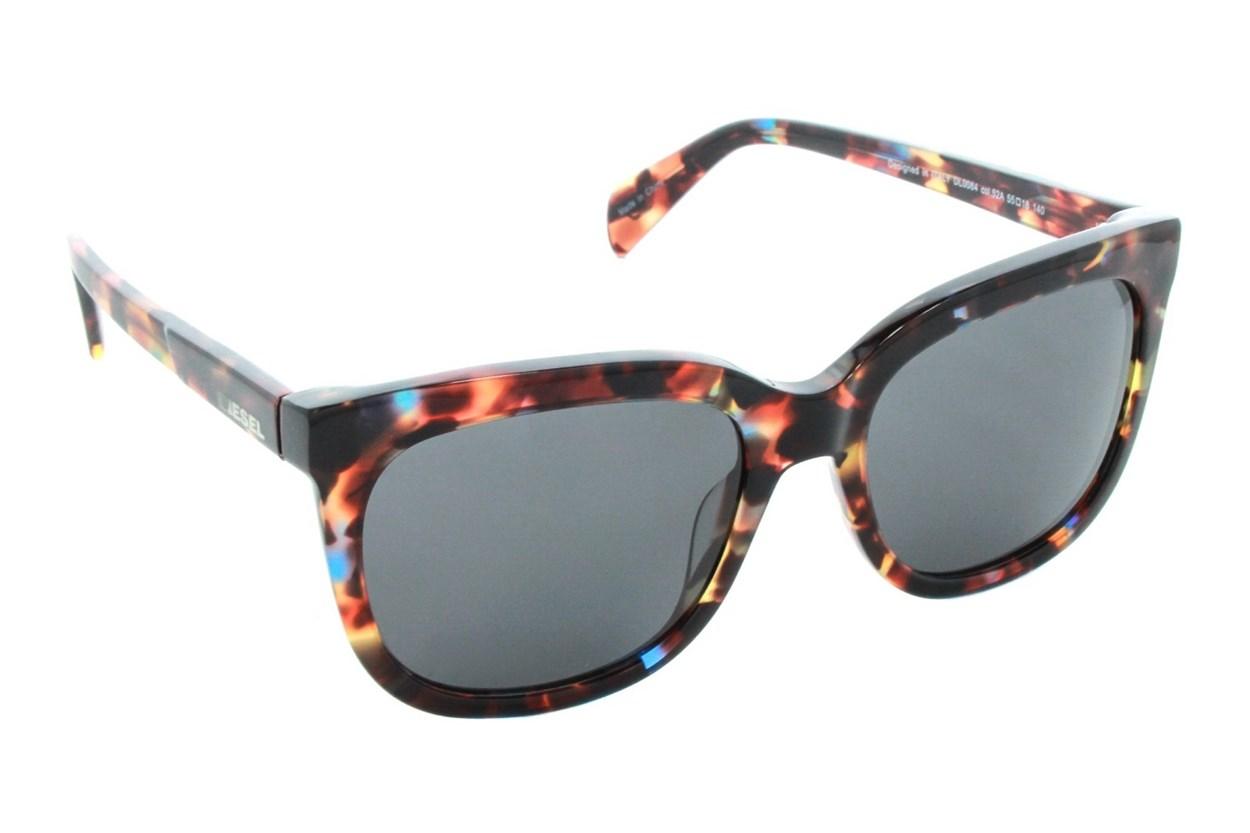 Diesel DL 0084 Brown Sunglasses