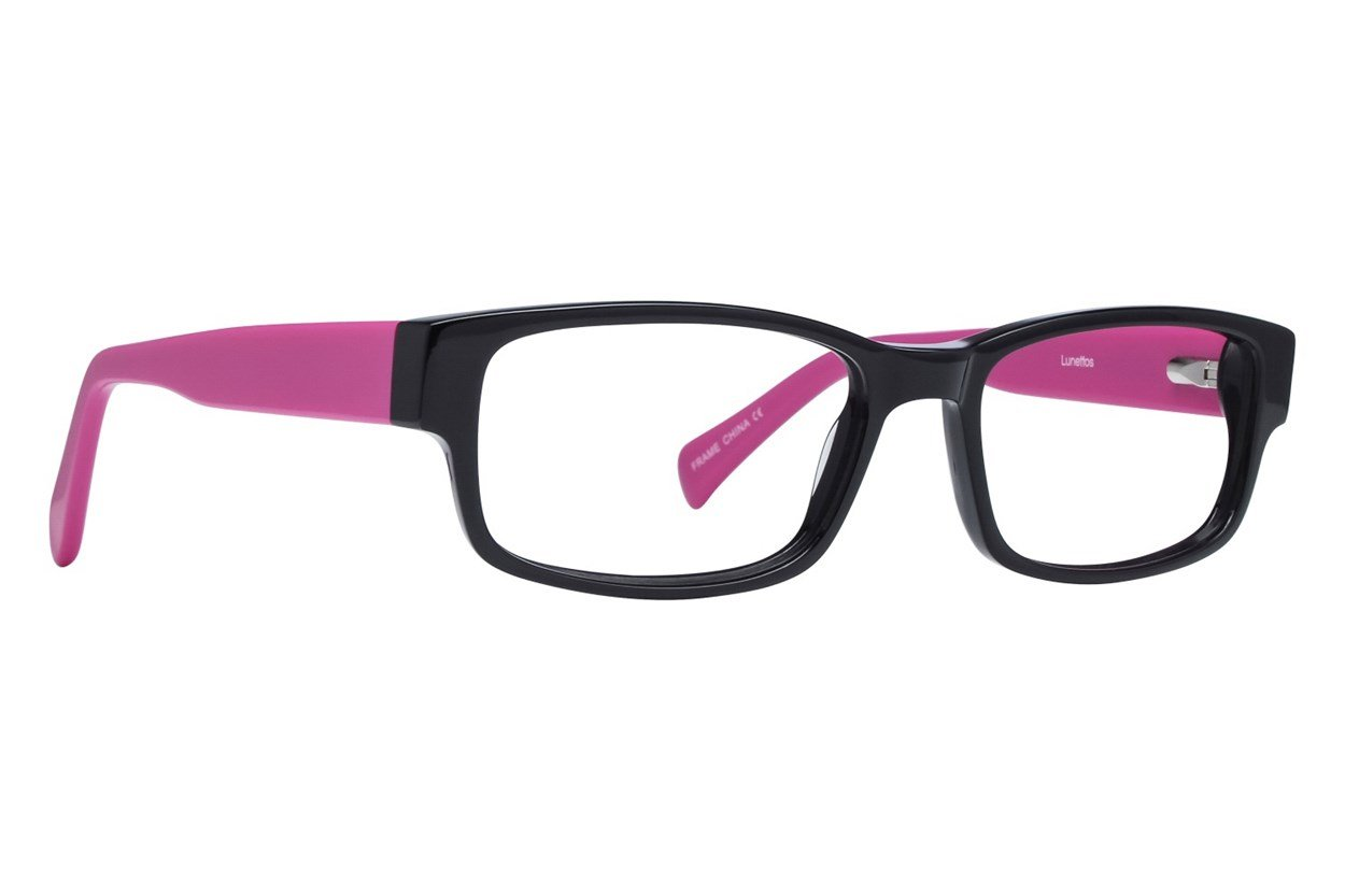 Lunettos Clark Pink Glasses
