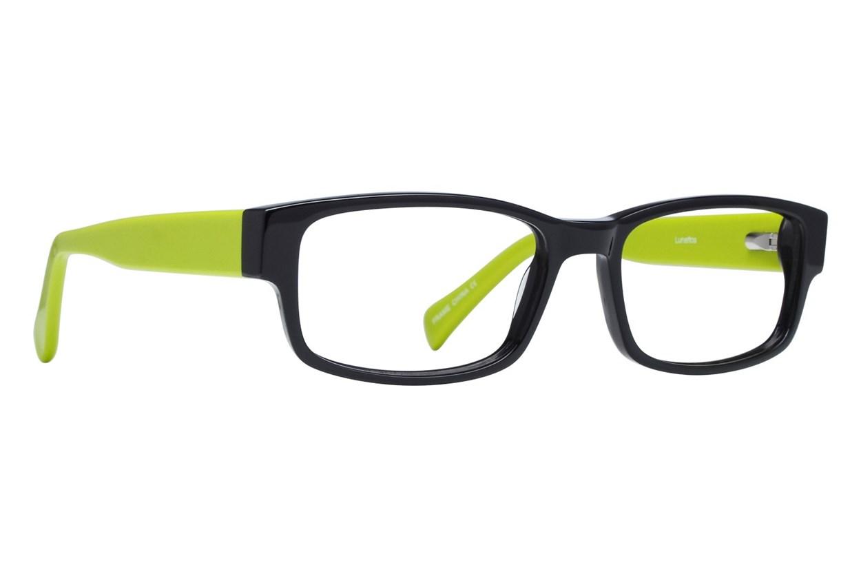 Lunettos Clarkson Green Glasses