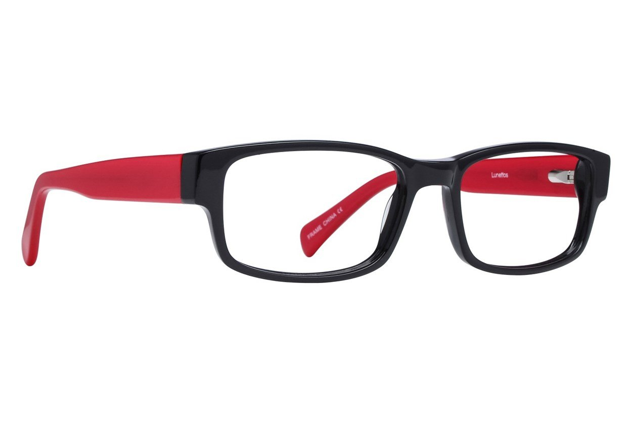 Lunettos Clarkson Red Glasses