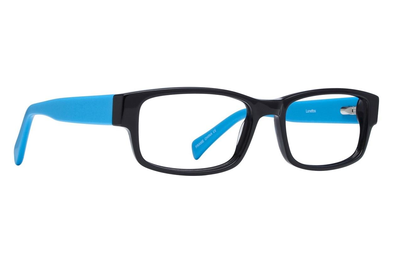 Lunettos Clarkson Blue Glasses