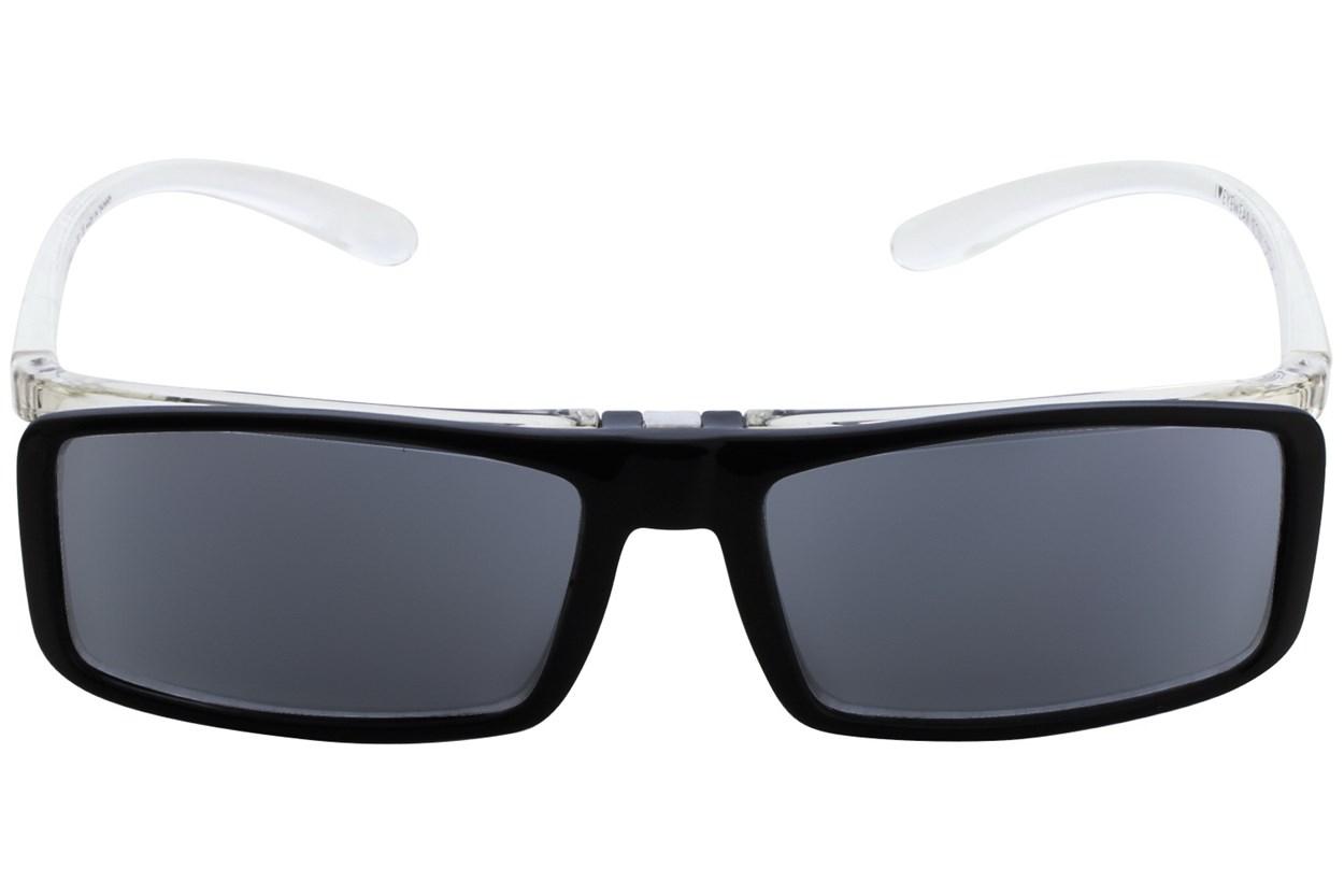 I Heart Eyewear Flip-Up Reading Sunglasses Black ReadingGlasses