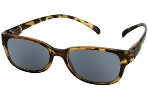 Click to swap image to alternate 1 - I Heart Eyewear Neck Hanging Reading Sunglasses Tortoise ReadingGlasses