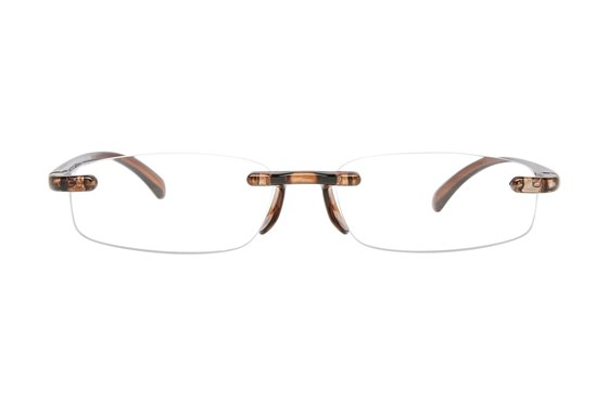 I Heart Eyewear Twisted Specs Brown