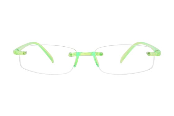 I Heart Eyewear Twisted Specs Green
