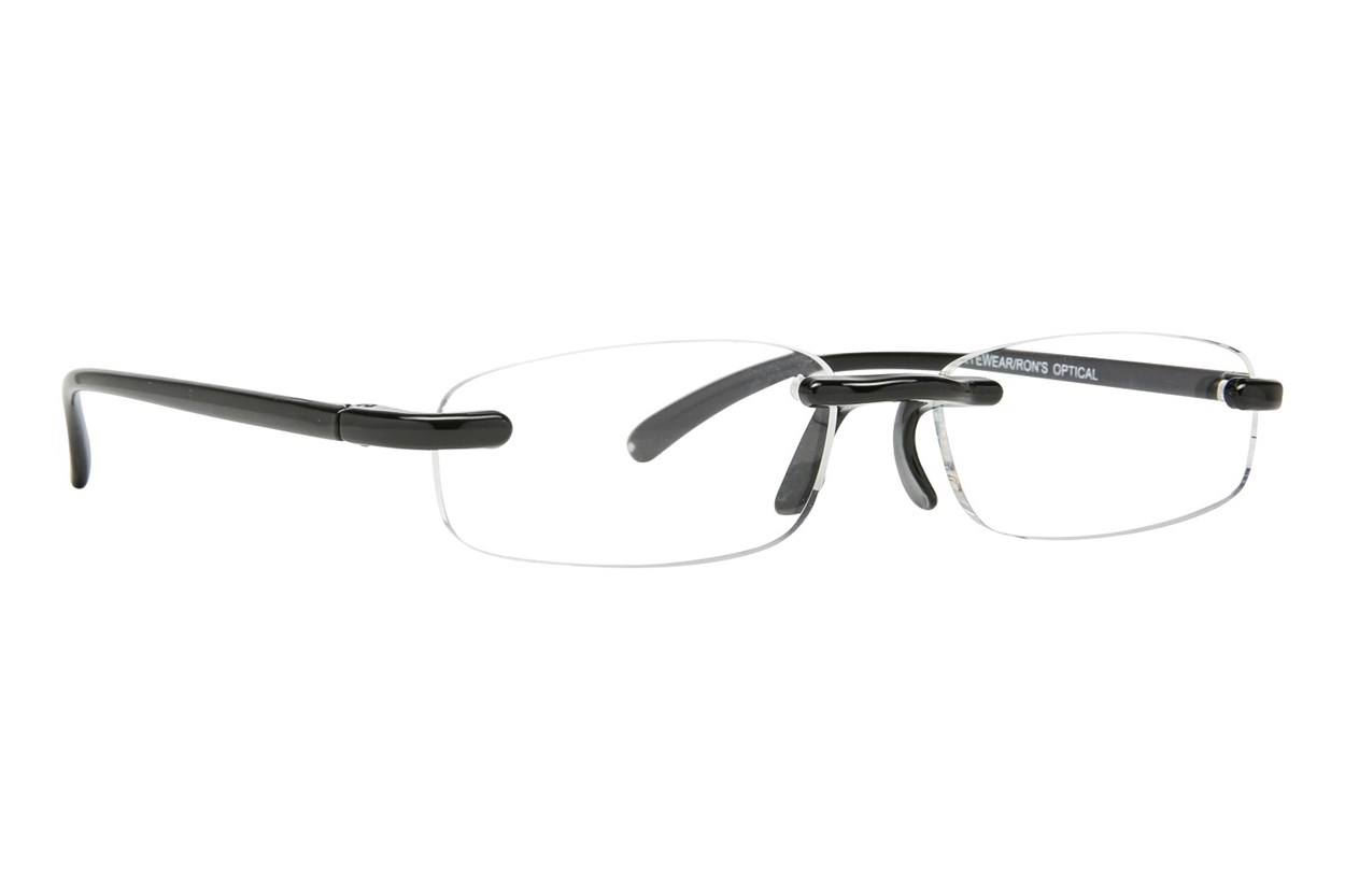 I Heart Eyewear Twisted Specs Black ReadingGlasses