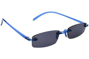 Click to swap image to alternate 1 - I Heart Eyewear Twisted Sun Specs ReadingGlasses - Blue