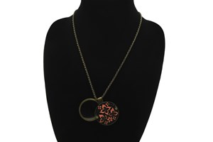 Click to swap image to alternate 1 - I Heart Eyewear Whimsy Magnifier Necklace  GlassesChainsStraps