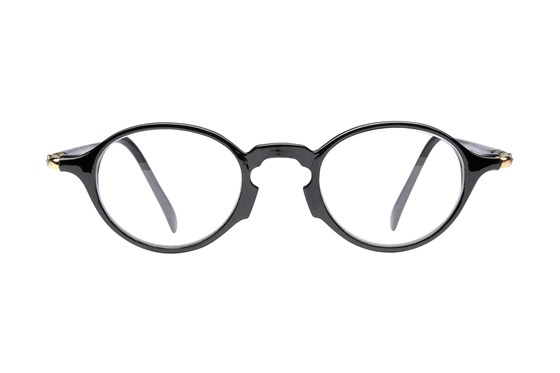 Peepers See You A-Round Reading Glasses Black