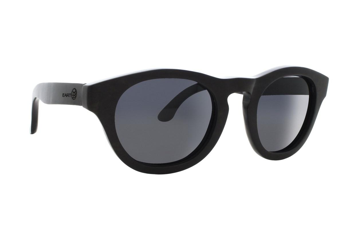 EARTH Wood Cocoa Black Sunglasses