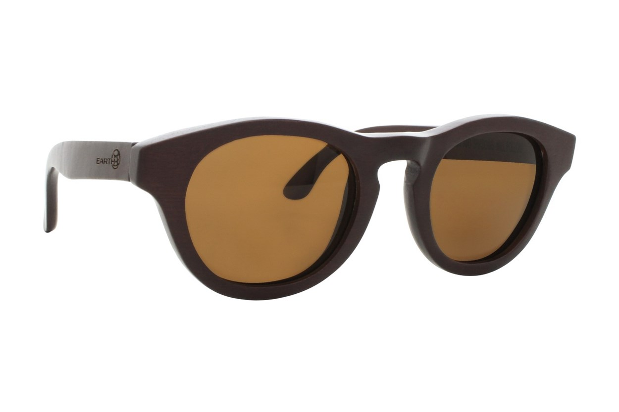 EARTH Wood Cocoa Red Sunglasses