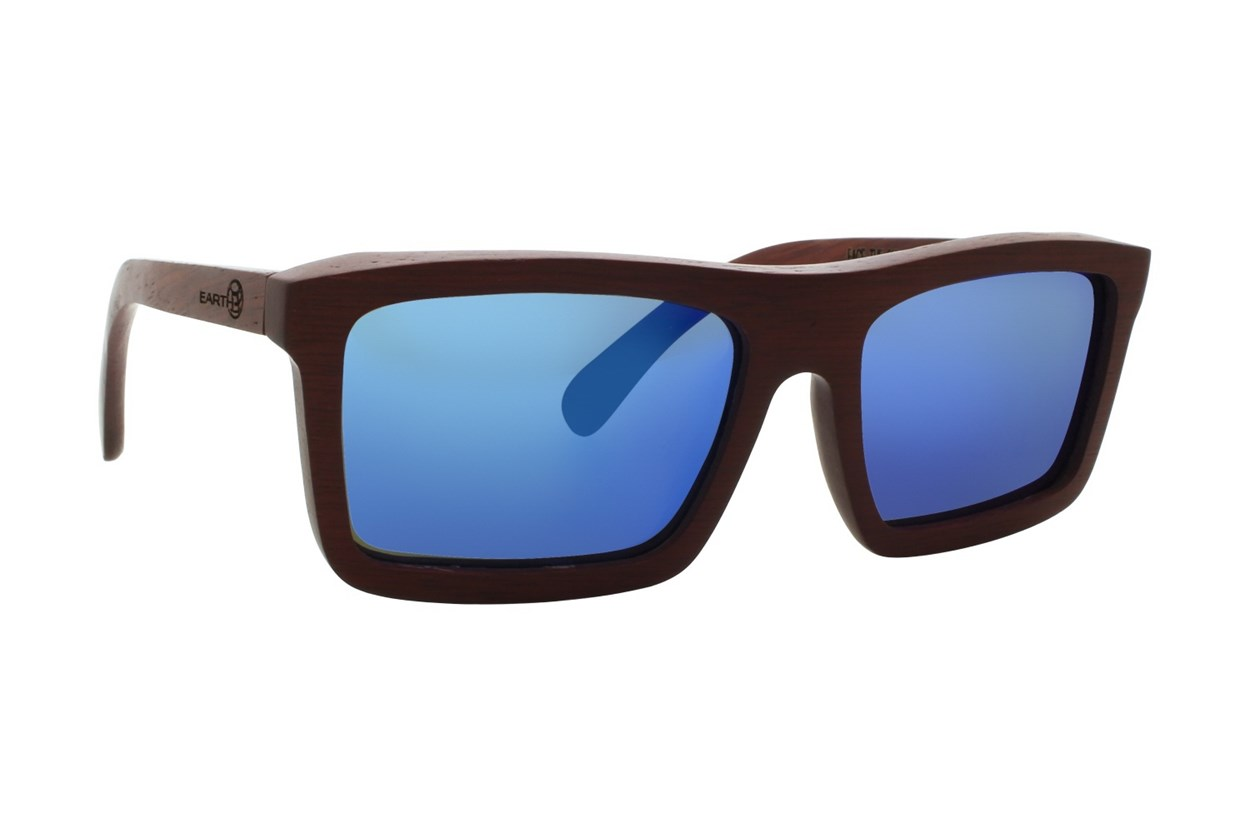 EARTH Wood Hamoa Sunglasses - Red