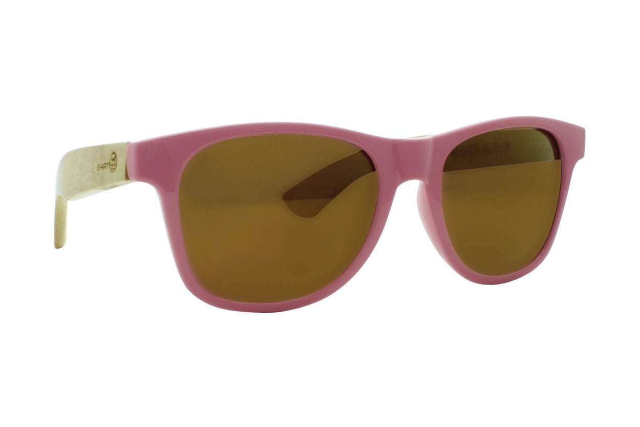 EARTH Wood Rockport Pink Sunglasses
