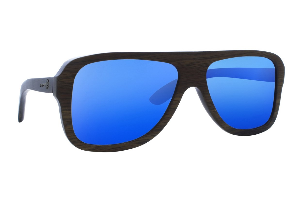 EARTH Wood Siesta Black Sunglasses