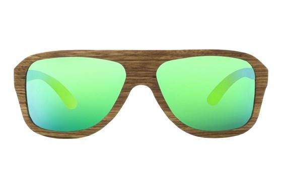 EARTH Wood Siesta Brown Sunglasses