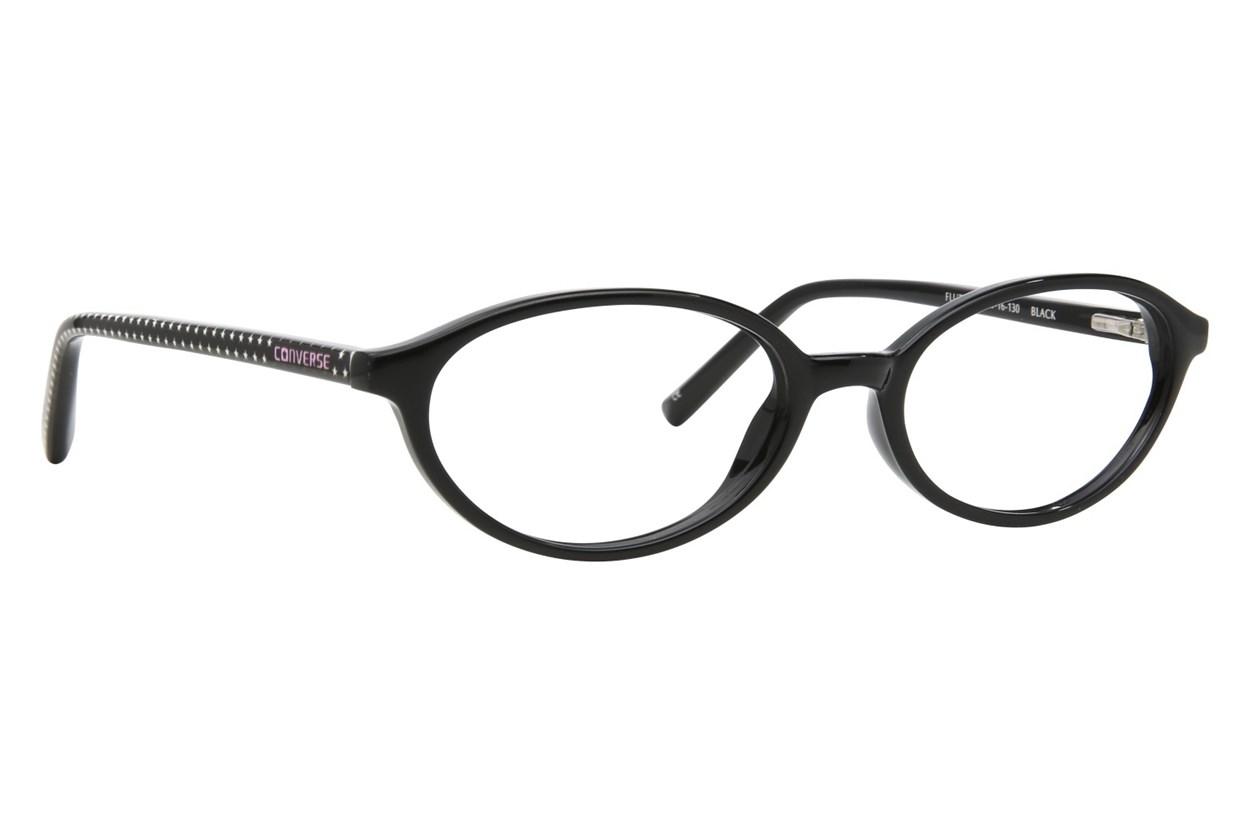 Converse Flutter Black Glasses