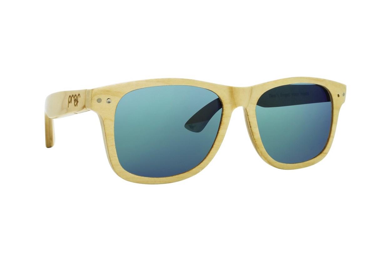 Proof Ontario Wood Tan Sunglasses