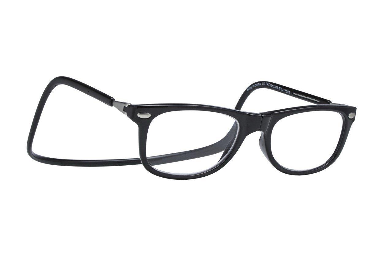Clic-Optical Ashbury Black ReadingGlasses