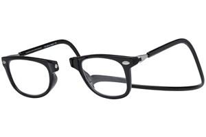 Click to swap image to alternate 1 - Clic-Optical Ashbury Black ReadingGlasses
