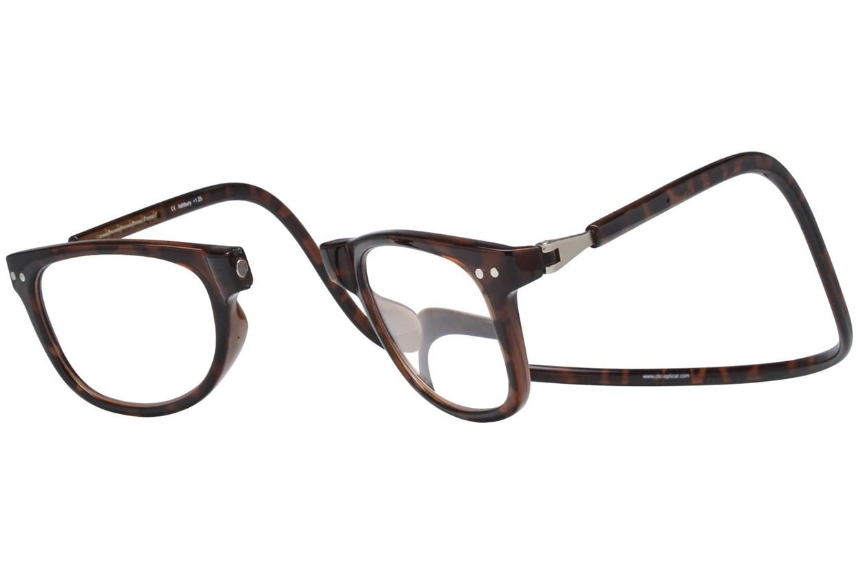 Alternate Image 1 - Clic-Optical Ashbury Tortoise ReadingGlasses