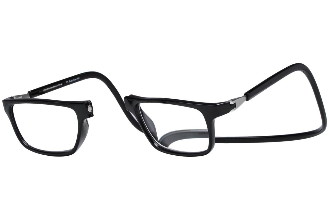 Alternate Image 1 - Clic-Optical Executive Black ReadingGlasses