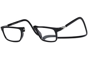 Click to swap image to alternate 1 - Clic-Optical Executive Black ReadingGlasses