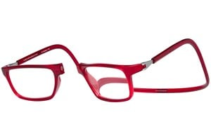 Click to swap image to alternate 1 - Clic-Optical Executive Red ReadingGlasses
