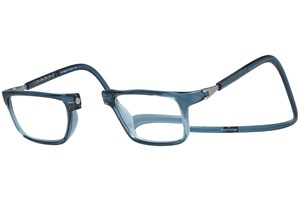 Click to swap image to alternate 1 - Clic-Optical Executive Blue ReadingGlasses
