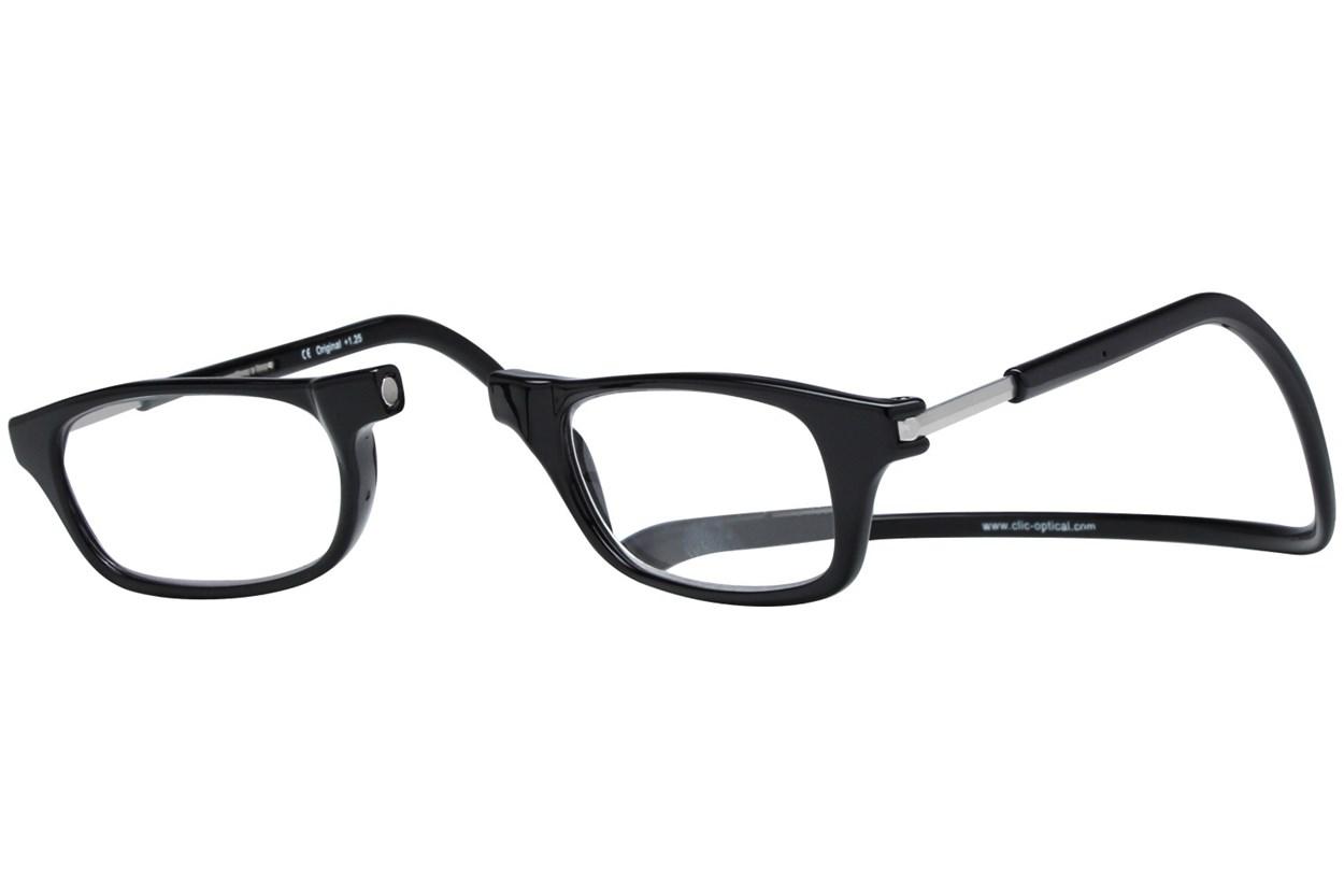 Alternate Image 1 - Clic-Optical Original Black ReadingGlasses