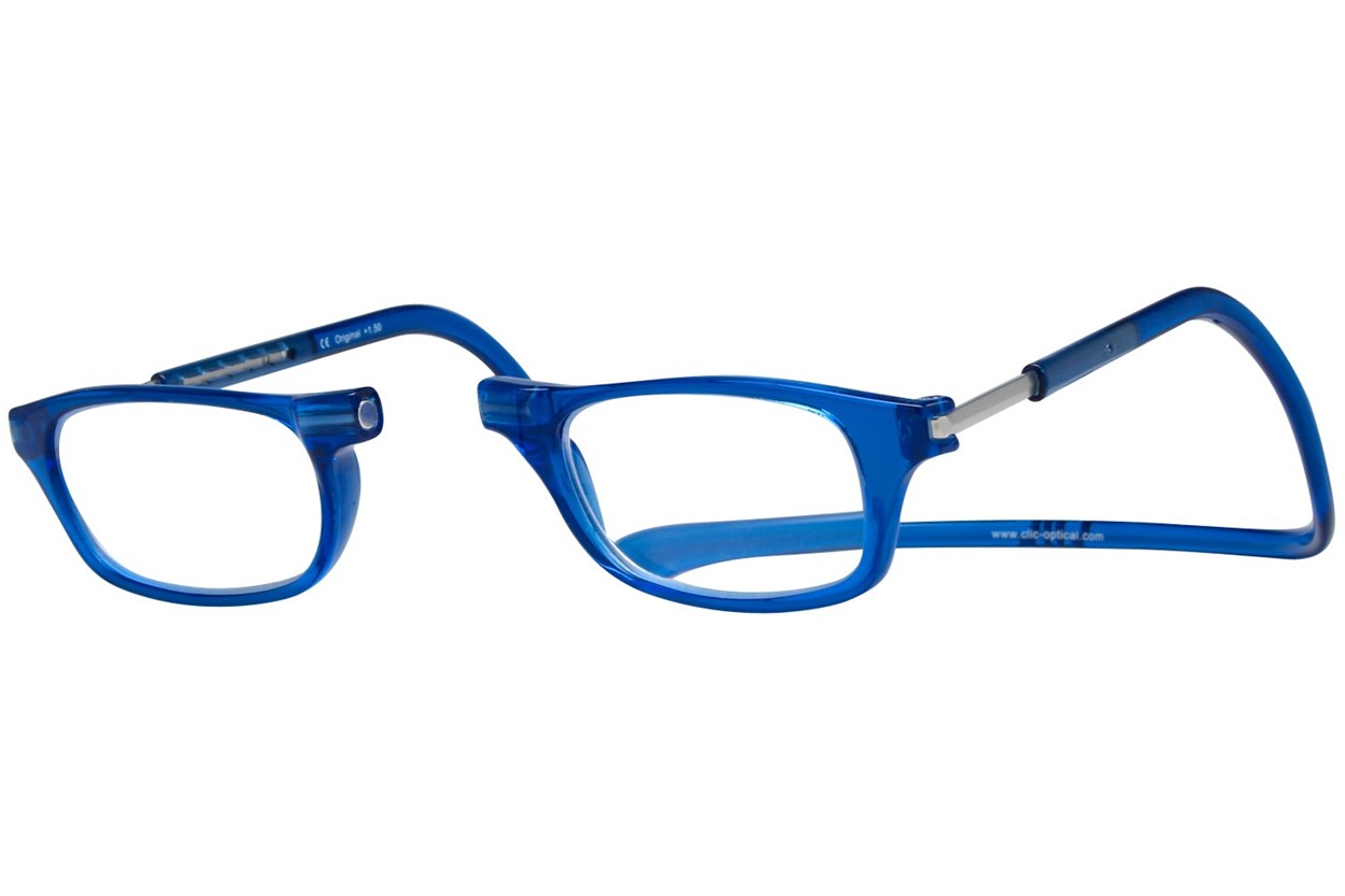 Alternate Image 1 - Clic-Optical Original Blue ReadingGlasses