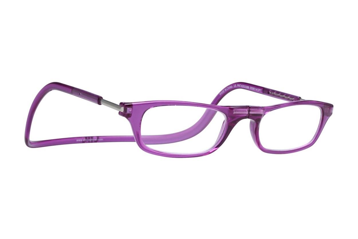 Clic-Optical Original Purple ReadingGlasses