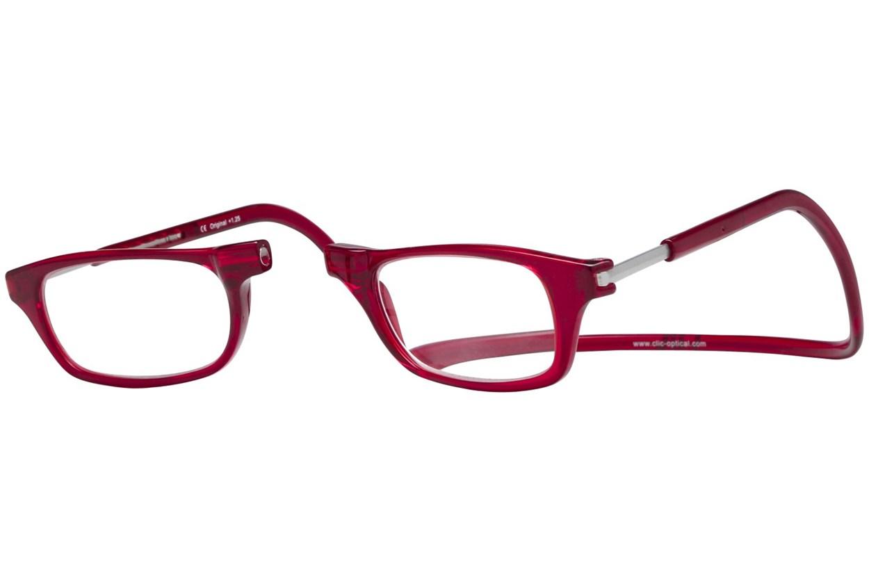 Alternate Image 1 - Clic-Optical Original Red ReadingGlasses