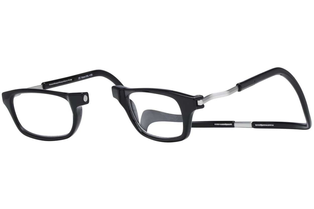 Alternate Image 1 - Clic-Optical Original XXL Black ReadingGlasses