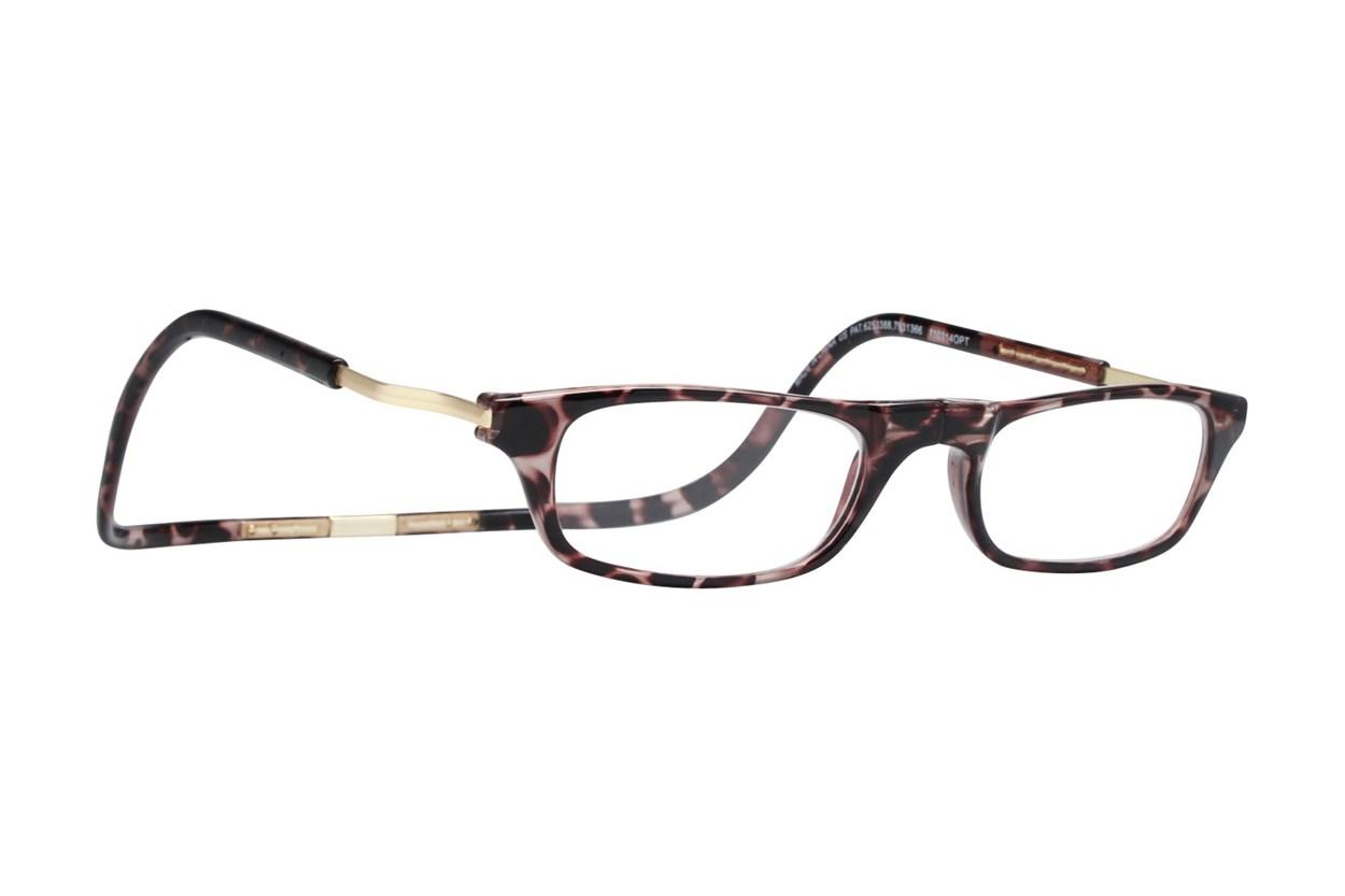 Clic-Optical Original XXL Tortoise ReadingGlasses