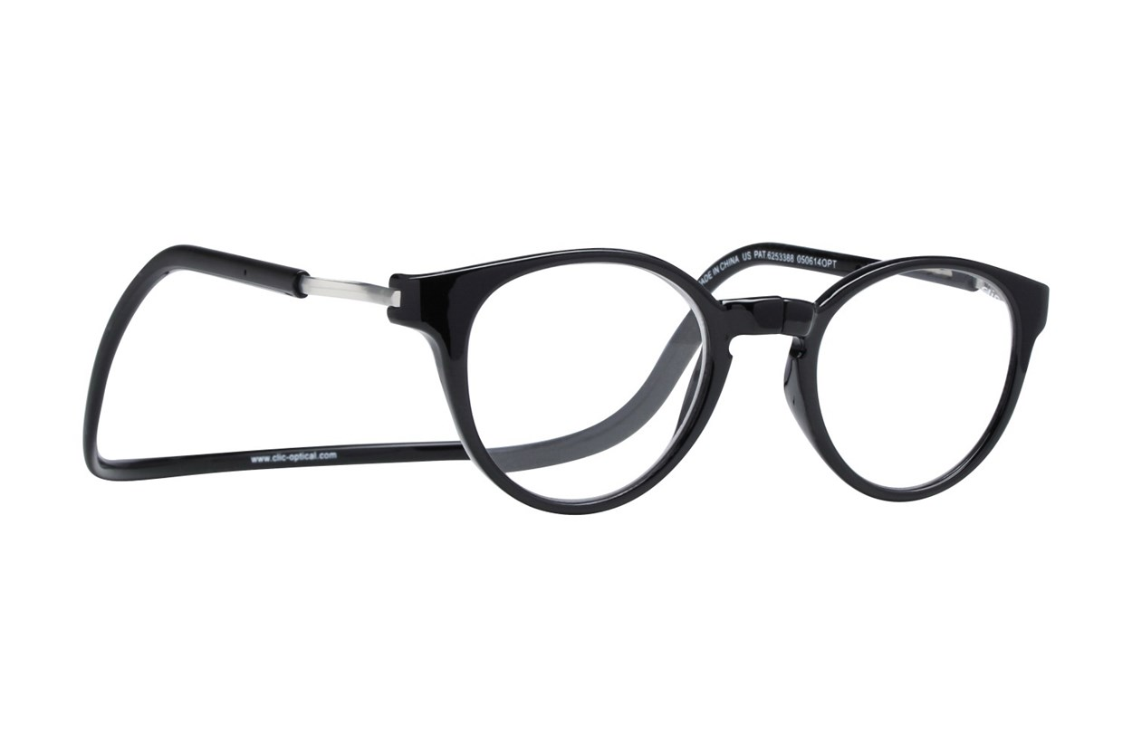 Clic-Optical Vintage XXL Black ReadingGlasses