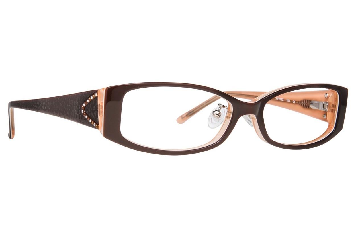 Red Lotus AF 206Z Brown Glasses