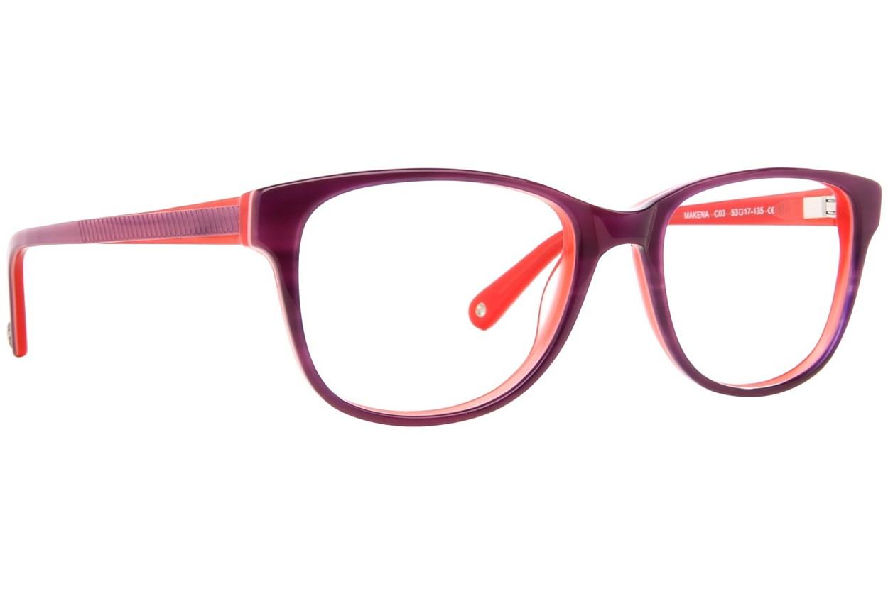 Sperry Top-Sider Makena Purple Glasses