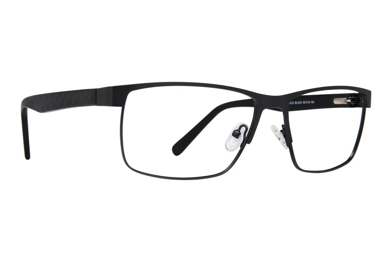 Maxx Eyewear Arnold Black Glasses